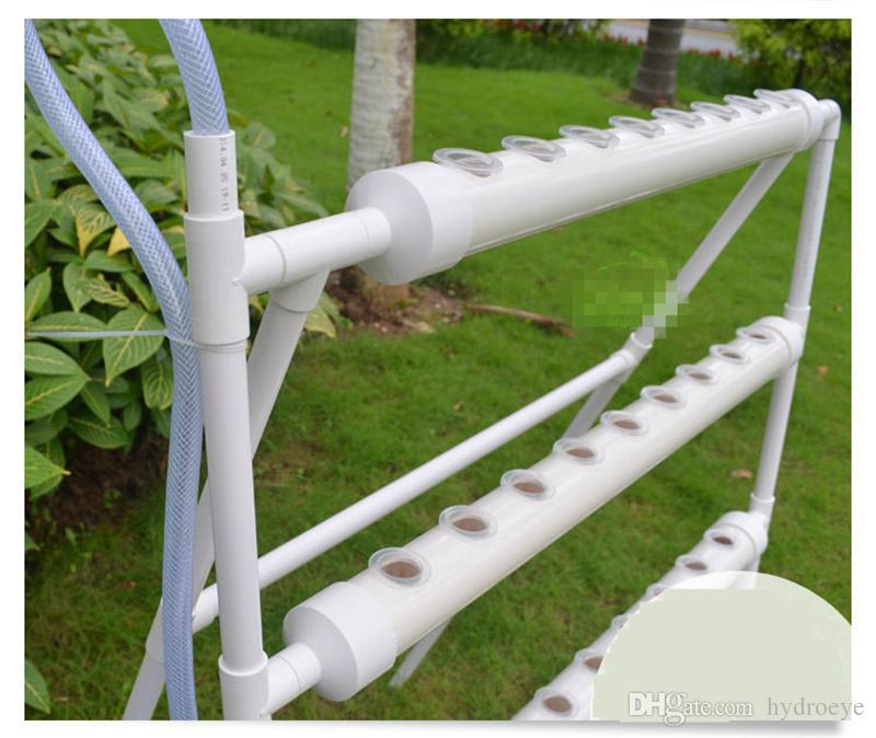 Dhl Hydroponics Garden Equipment Vertical Type 4 Pipes 36 Plants Soilless  Cultivation Balcony Health 100cm X.