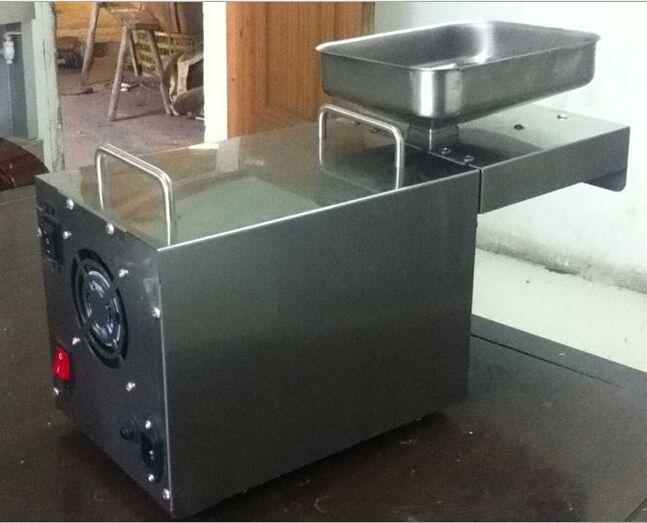 Otomatik Zeytinyağı Pres Makinesi Kuruyemiş Tohumu Yağ Baskı Presleme Makinesi Tüm Paslanmaz Çelik 110/220 V