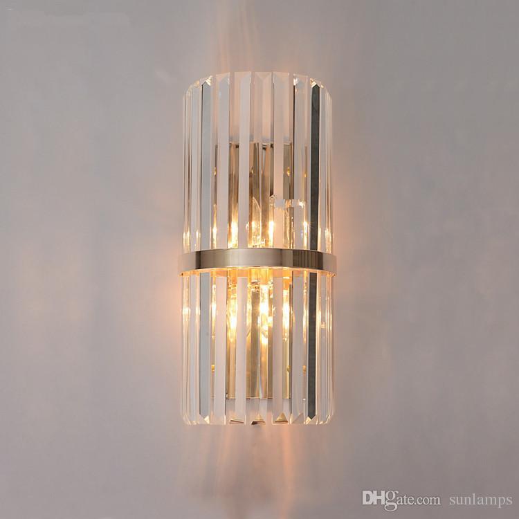 Acquista Moderno LED K9 Cristallo Applique Da Parete Corridoio ...