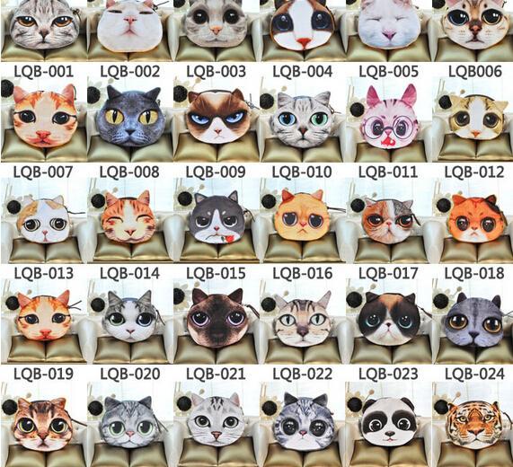 غاضب القط رئيس عملة محفظة 3d شخصية الحيوان مواء ستار الناس سستة بطاقة مفتاح المحافظ محفظة حقيبة مستحضرات التجميل حقيبة
