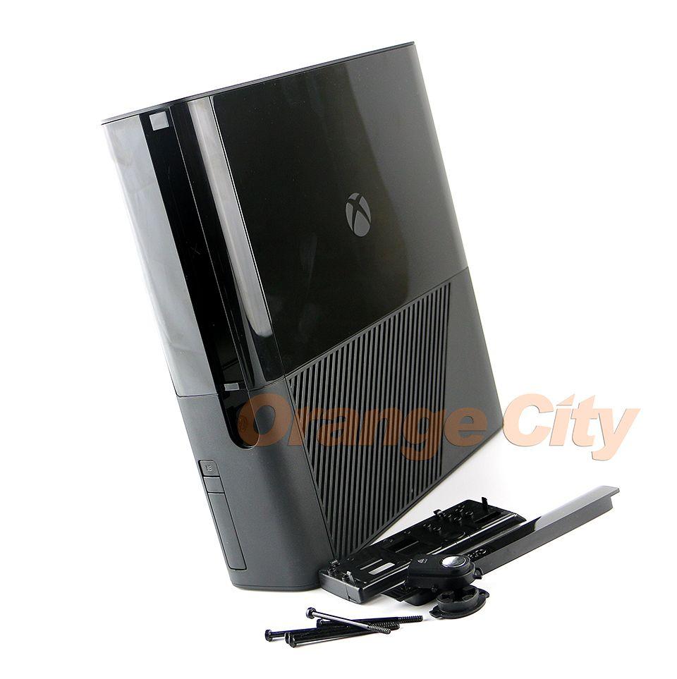Carcasa protectora completa Carcasa Funda para XBOX360E XBOX360 E Sistema de consola Slim Negro