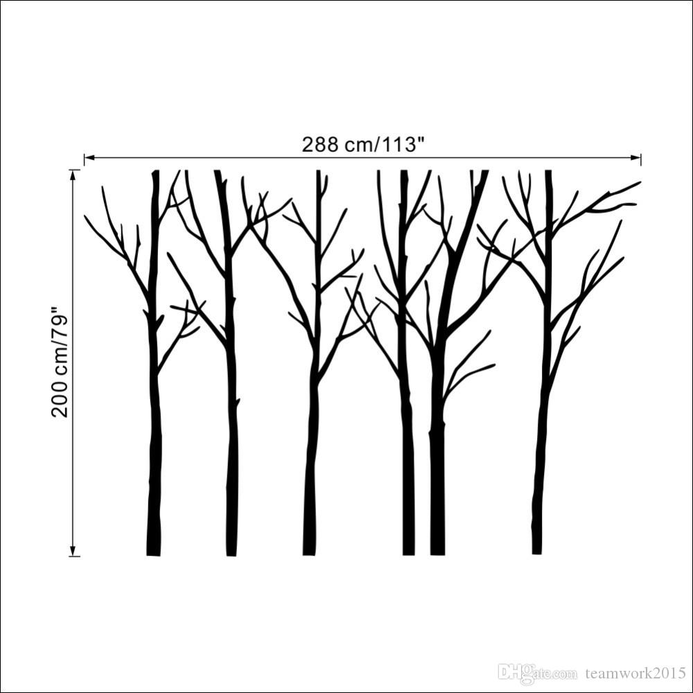 Removable wall art graphic - Removable Wall Art Australia Creative Big Trees Australia Forest Removable Wall Art Stickers Pvc Wallpaper
