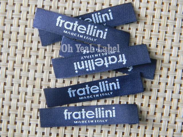 1000pcs özel yapılmış şam nakış etiket tarafı etiketleri giyim şapka etiket çanta etiketi için ana etiket dokuma