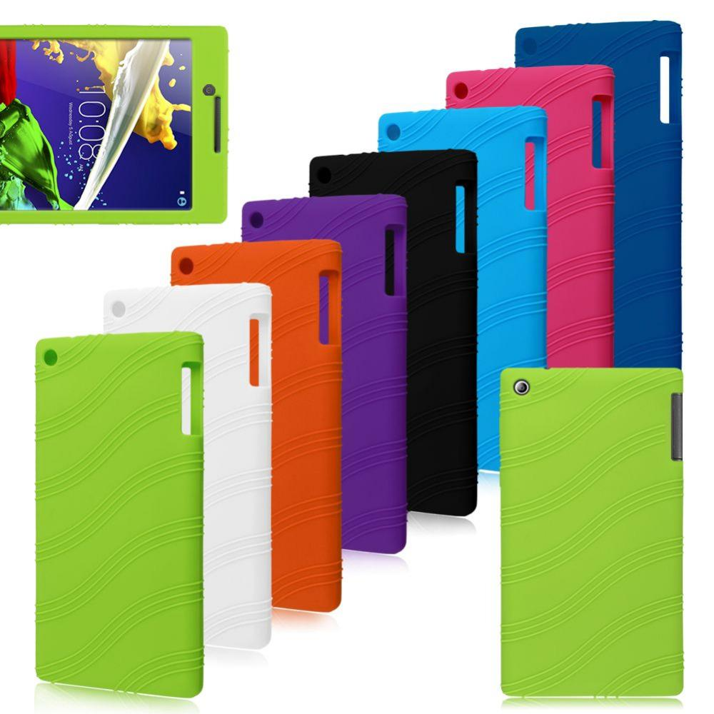 Best For Lenovo Tab 2 A7-30 Tablet PC 7inch Soft Silicone Rubber Gel Skin Case Cover