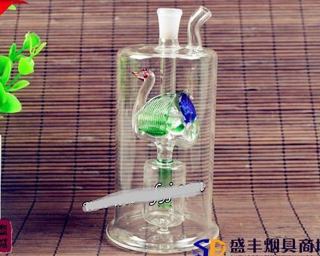 Narghilè all'ingrosso libero di trasporto - vaso di vetro del narghilé] [58 papere, consegna casuale di colore
