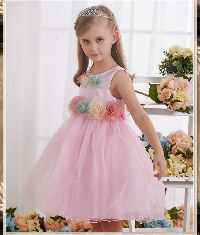 Compre De Gama Alta Vestido De La Princesa De Los Niños De Las ...