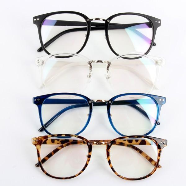 Unisex Tide Óptica Óculos Redondos Armação de Óculos de Metal Seta UV400 Lens Eyewear