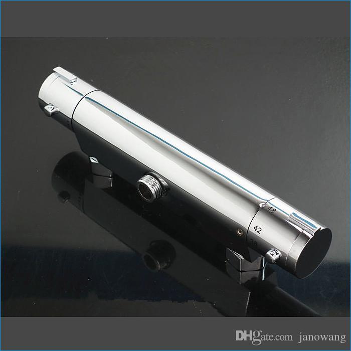 Hoge kwaliteit in-muur thermostatische douchekraan, badkamer messing zonne-thermostatische mengklep, messing kraan vaste accessoires, J14052