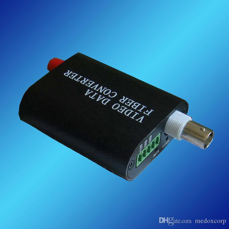 Mini Video + RS485 naar Optic Media Converter, Video over Fiber Transceiver, Video-zender Ontvanger, Video Optical Mulplexer, SM, SX, 20km
