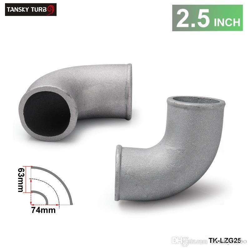 Tansky-High الجودة العالمي 2.5 بوصة المصبوب الألومنيوم الكوع 90 درجة أنابيب توربو intercooler اقتران TK-LZG25
