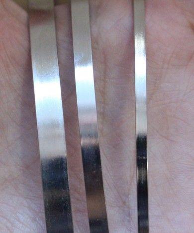Katı Şapkalar 5mm Boş Düz Metal Hairband Kızlar için Dekoratif Metal Kafa Saç Bandı Diy Zanaat Saç Çember