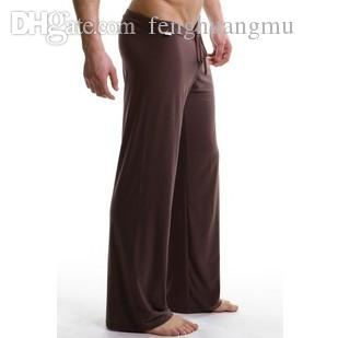 Wholesale Mens Sleepwear trousers male sports Yoga panties breathable lounge casual pants pajama pants quick-drying m4