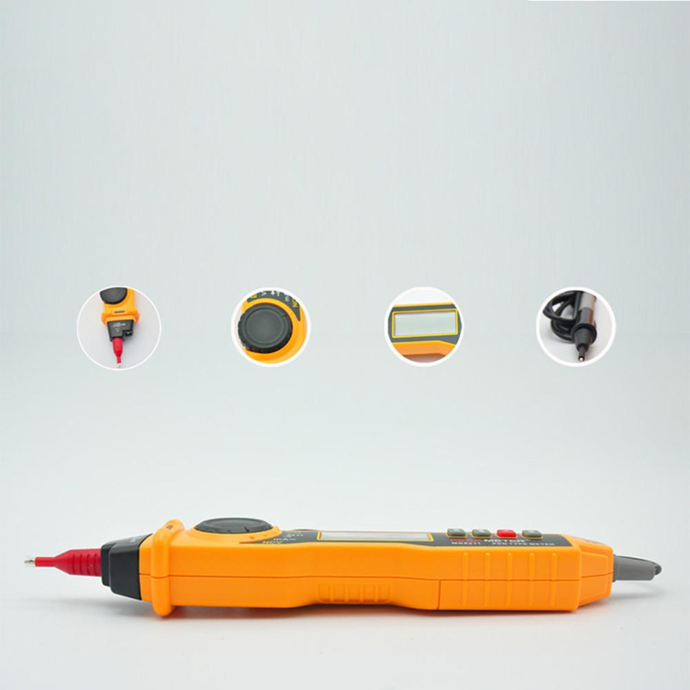 MS8211 NCV AC DC Current Voltage Resistance Diode Connectivity Multitester Pen Type Digital Multimeter-6