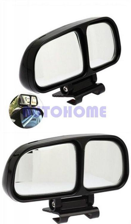 Blind Spot Car Rear View Side Wide Angle View Mirror Vehicle 2 Mirror Inside (7)