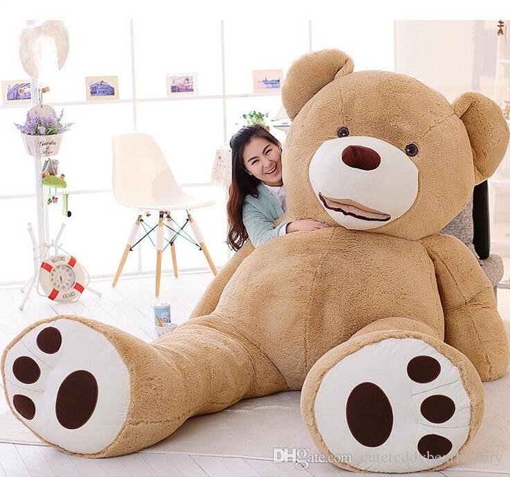 Teddy Bear 4 Ft Stuffed Animals For Girlfriend Boyfriend Large Anniversary Gift