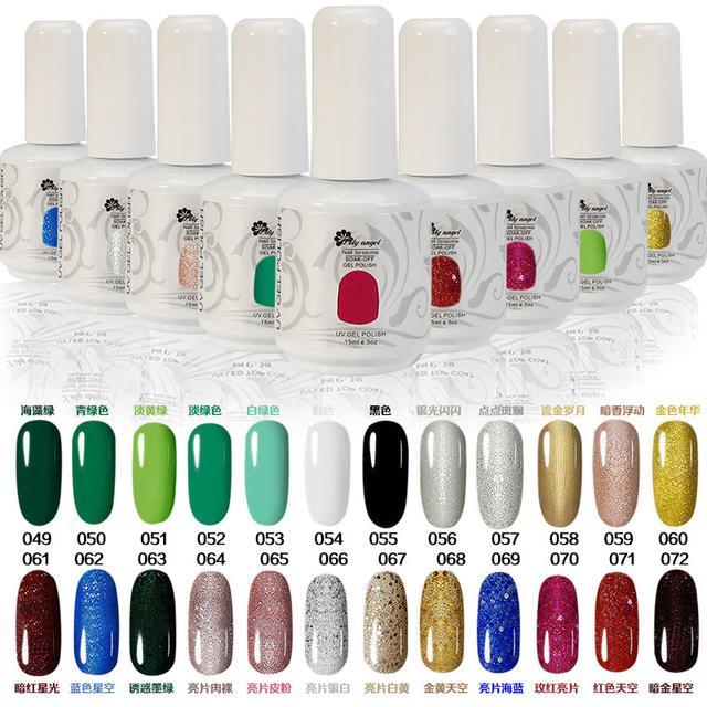 Lily Angel Brand 15ml Gelpolish Choose Any Nail Gel Soak Off Led Uv ...