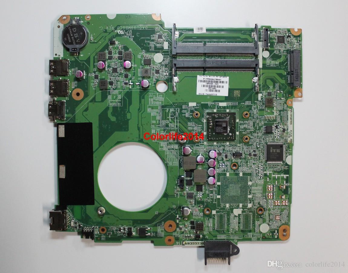 per HP 15-F Series 785442-501 UMA A8-6410 DA0U99MB6C0 REV: C Scheda madre del computer portatile principale Funzionante perfettamente