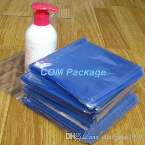 """10*20 см (3.9 * 7.9"""") ясно ПВХ термоусадочная сумка пленочная пленка с открытым верхом термоусадочная термоусадочная полиэтиленовый пакет розничный пластиковый подарочный косметический упаковочный чехол"""