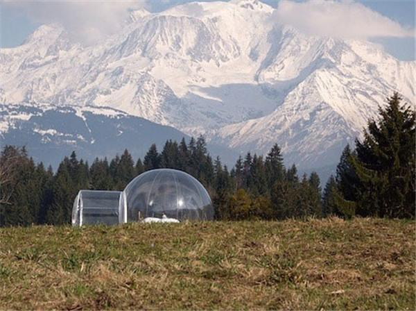 air sealed Tent