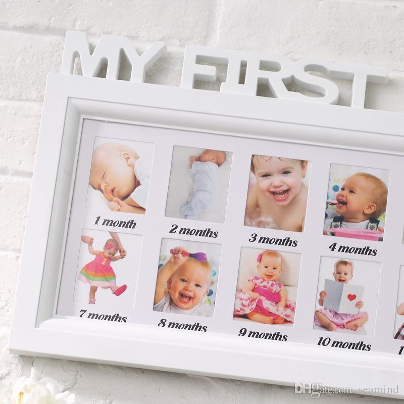 Großhandel Baby Memorial Bilderrahmen Brief Stück Verbunden Kinder ...