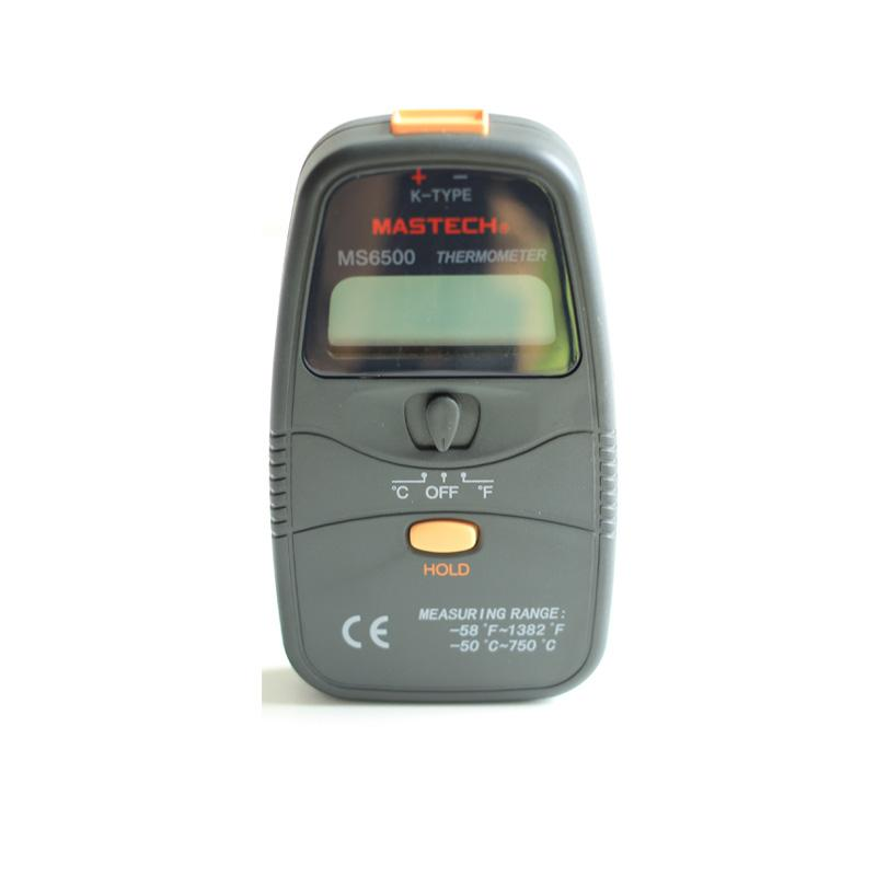 Mastech MS6500 Digital Thermocouple Thermometer K-...