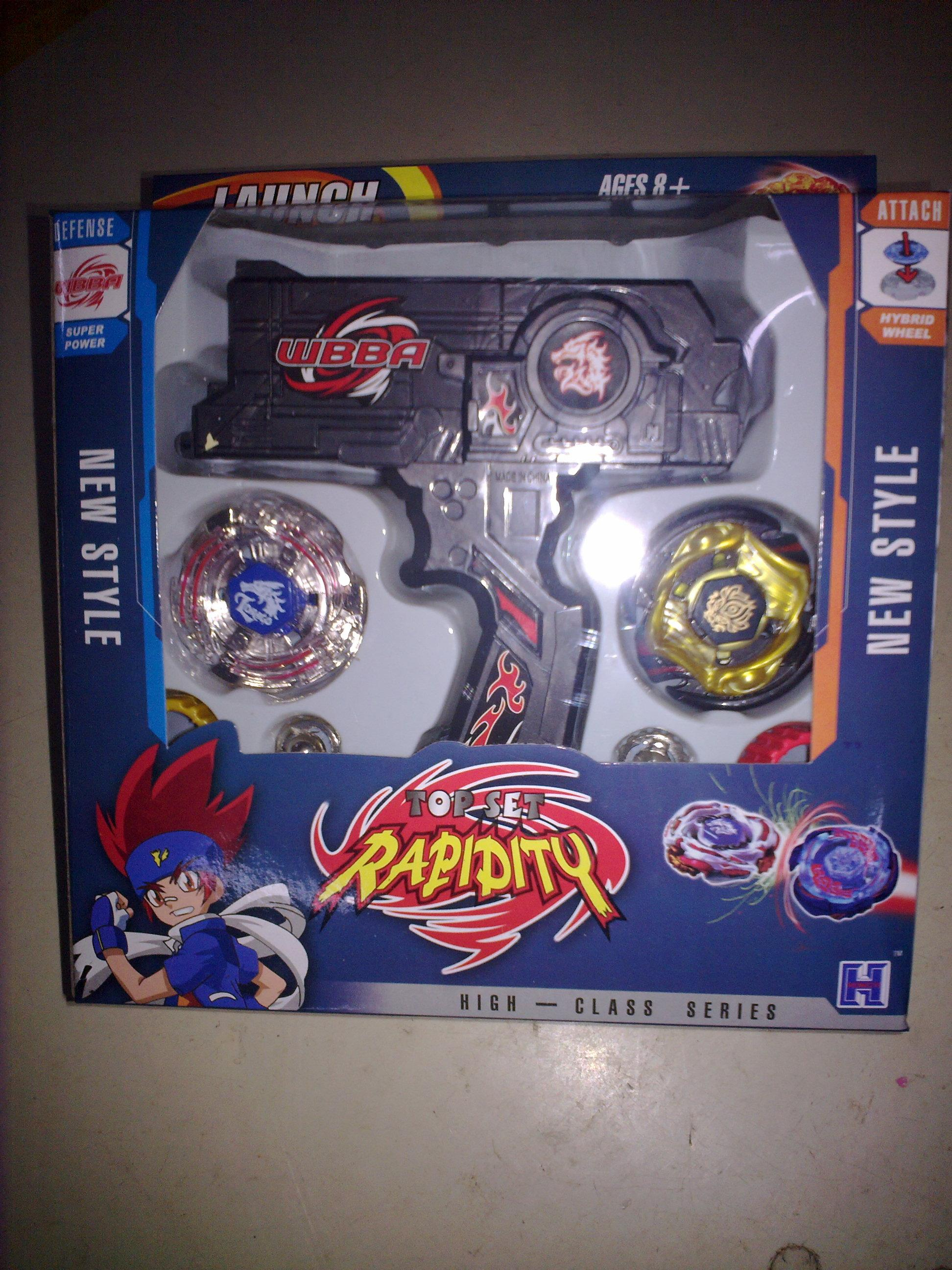 1pcs Beyblade box set sale 4D Launcher sale Metal Fusion gyro Kids
