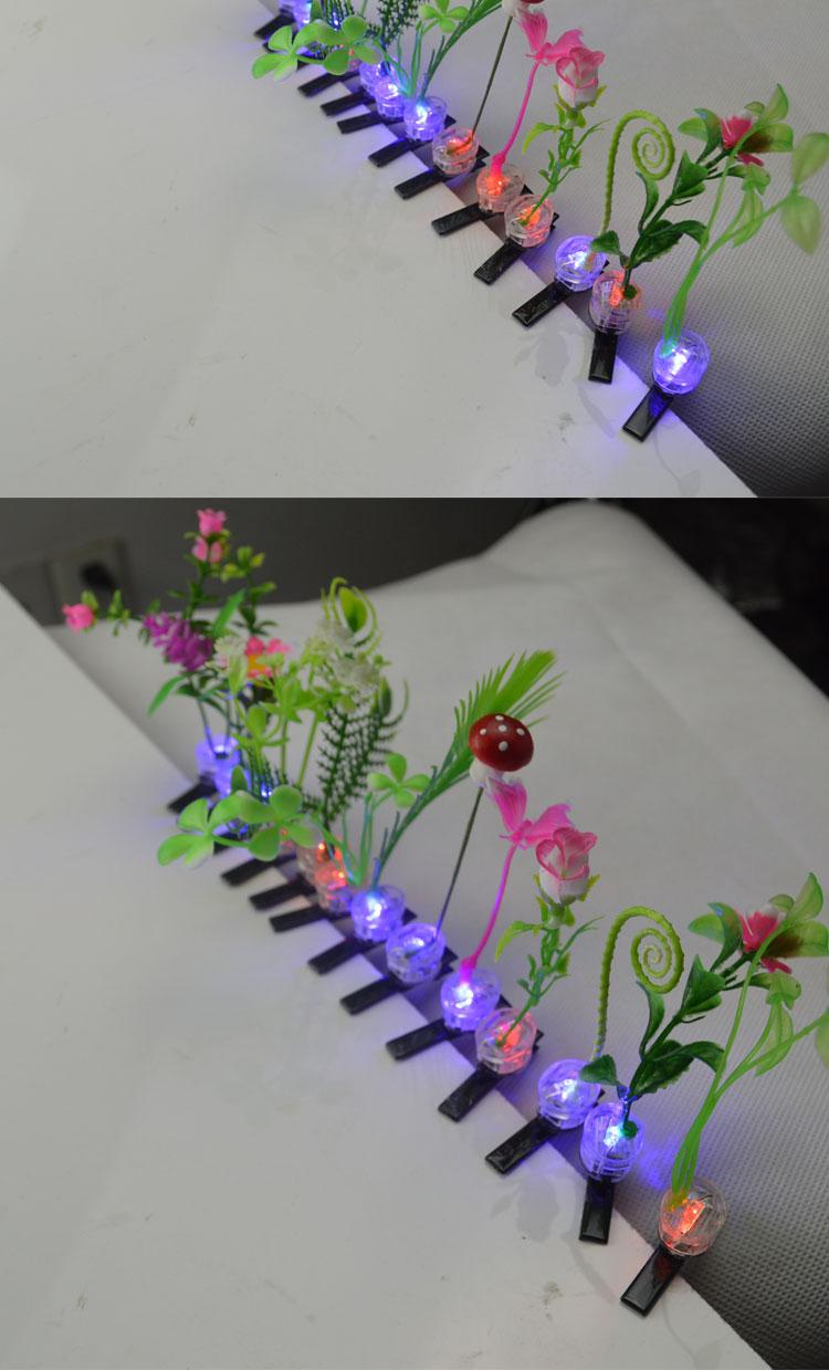 Sell Meng artifact emitting issuing plant mushrooms wholesale flower hair accessories hairpin head grass sprouts sunflowers headdress