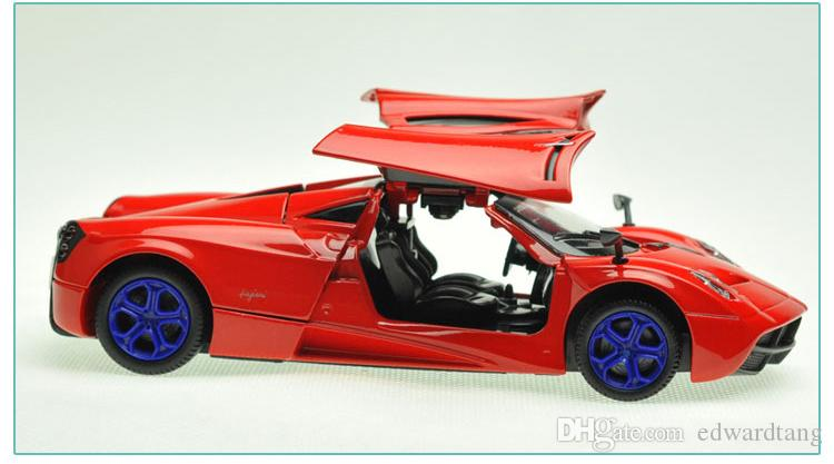 alloy car model world famous car toyhigh simulation with light sound