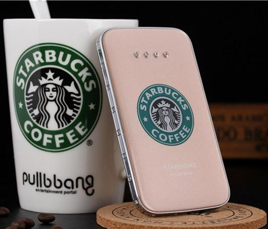 2019 Starbucks Power Bank 8800mah Portable Charger Cute Charging Times For Iphone Samsung Starbucks Essential Travel Aesthetic Appearance From