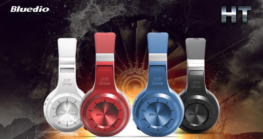 2015 쇄도 1pcs Bluedio HT (슈팅 브레이크) 무선 블루투스 4.1 스테레오 헤드폰 내장 마이크 핸즈프리 전화 및 음악 스트리밍