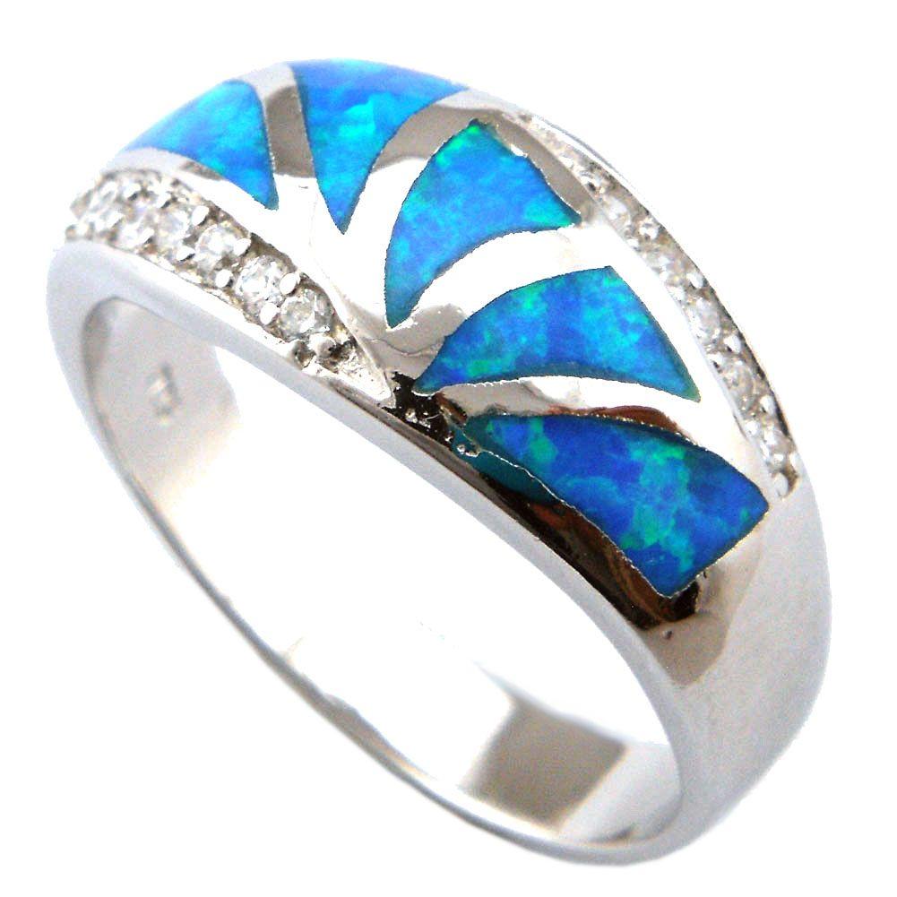 geen verzendkosten ! Fire Opal Rings Mode Opal Ringen
