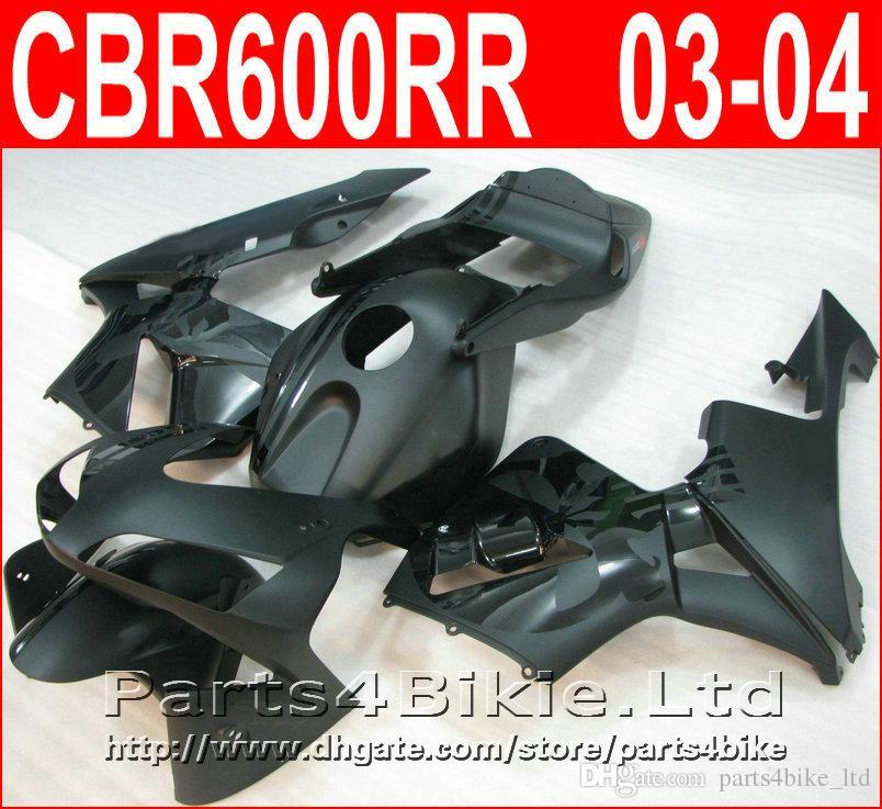 Estilo de carrocería mate negro mate para Honda CBR600RR 2003 2006 CBR 600 RR carenado CBR 600RR 03 04 carenado CYTB