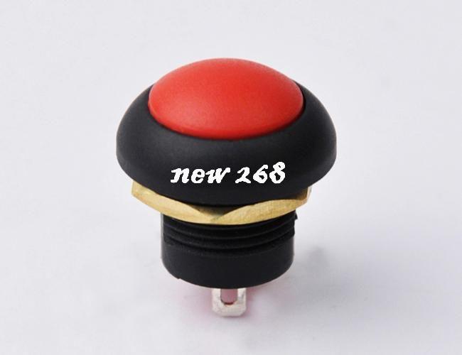 50pcs 12mm Momentary push button switch Contact:NO