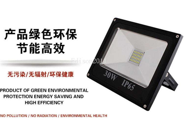 5PCS 100W Outdoor Led Floodlights new price Waterproof White IP65 Warm Cool Led Flood Lights AC 85-265V downlight lights