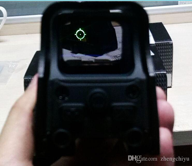 551 552 Style Tactical Holographic Dot Sight Airsoft Gun Mounted Red Green  Dot Sight Scope Telescopic Sight For Shotgun Night Vision Optics Tactical