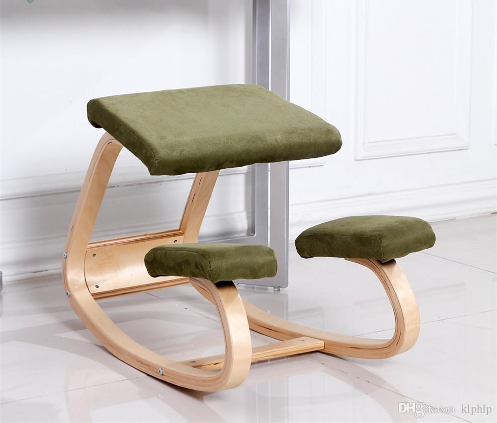 2017 Original Ergonomic Kneeling Chair Stool Home Office Furniture ...