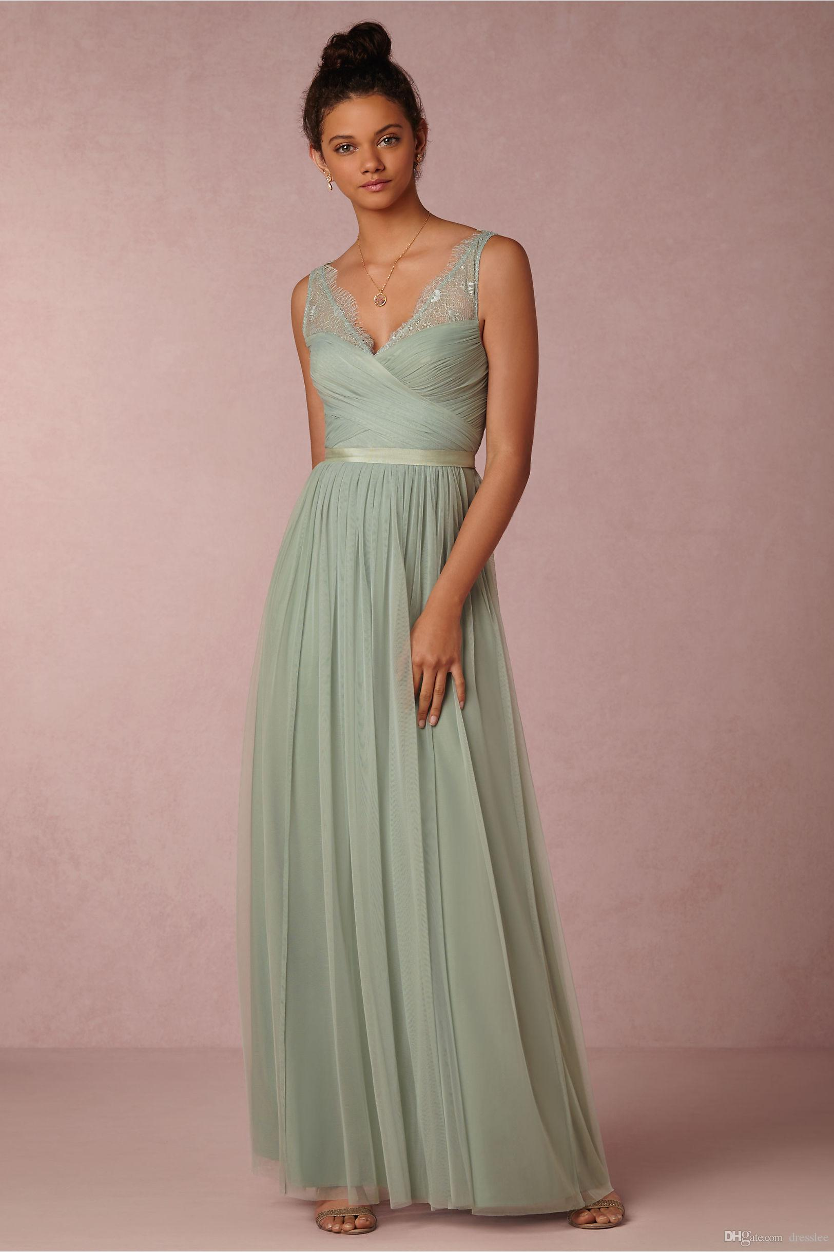 Atractivo Vestidos De Dama Aqua Patrón - Colección de Vestidos de ...