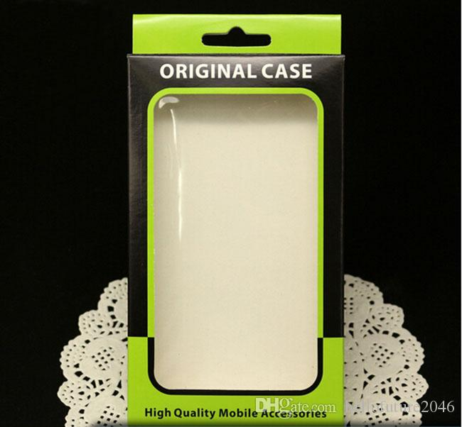 Empty Mobile Cell Phone Case Retail Packaging Package Packing Plastic Crystal Paper Box Boxes For iPhone 6 5S Samsung Galaxy Sony LG HTC One