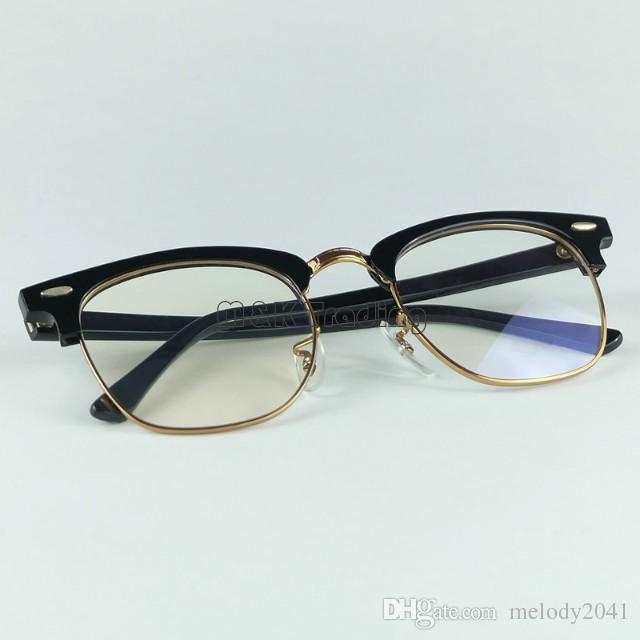 أعلى جودة ريال خلات 5154 مصمم النظارات المهنية الإطار البصري 51 ملليمتر حجم 4 ألوان بسهولة لتغيير العدسات