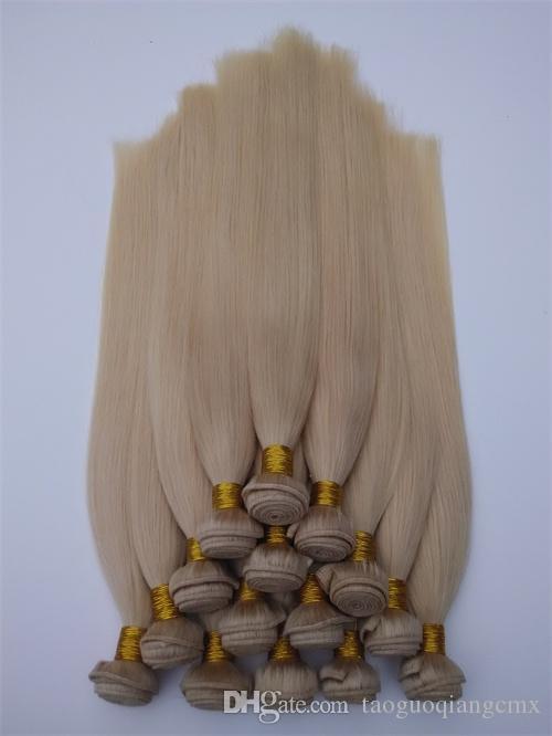 베스트 셀러 브라질 페루 말레이시아 원산지 인간의 머리 weft 인도 처리되지 않은 스트레이트 인간의 머리카락 번들 Dyeable 최고의 머리카락