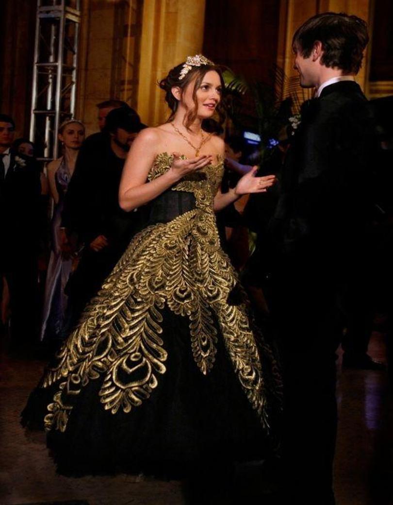 Custom Made 2016 Fashion Amazing Shiny Blair Waldorf\'S Prom Dress ...