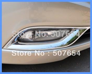 Spedizione gratuita! Materiale ABS di alta qualità 2 pezzi coperchio anteriore fendinebbia, fendinebbia anteriore per Hyundai Sonata YF 2011-2013