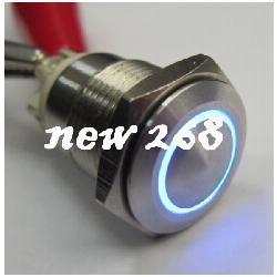 ELEWIND 16 мм кольцо освещенный кнопка винт терминала нажать переключатель(PM161F-10Э/ж/б/12в/с/Л)