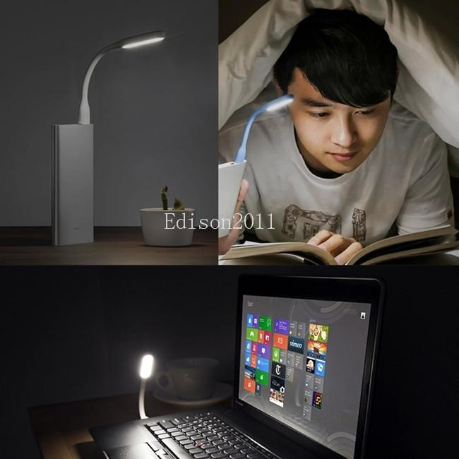100pcs Original USB Light Ultra Bright Flexible LED Lamp Booking Light with USB for Power bank comupter Portable