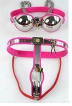 Meilleure vente!!! Pantalon de sous-vêtements féminins Enforcer Chastity Dispositif de ceinture de chasteté Y