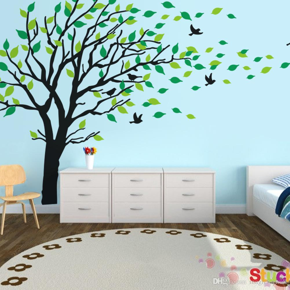 Wall stickers extra -  Extra Large Tree Wall Art Mural Decal Sticker Living Room Bedroom Background Wall Decoration Graphic Removable