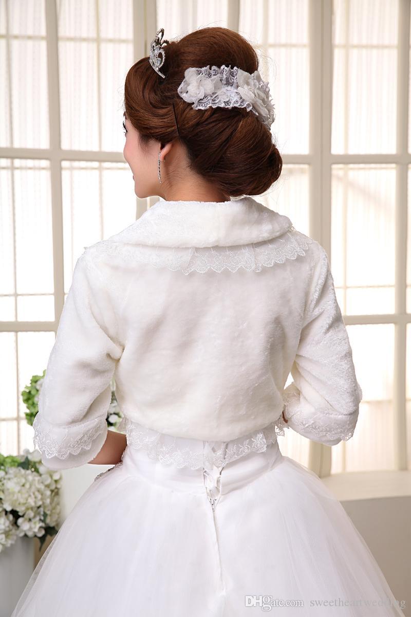 Großhandel 2015 Best Selling Spitze Jacken Für Hochzeitskleider ...