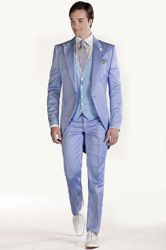 جديد وصول العريس اللباس سهرة الدعاوى الزفاف ذروته التلبيب سترات + سروال + التعادل + سترة مخصص بدلة رسمية أفضل الرجال الدعاوى