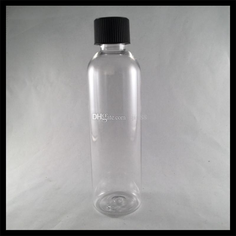 독특한 모자와 120ml 플라스틱 E 액체 병 애완 동물 Dropper Ejuice E 액체 병을 쥐어 짜기 쉬운