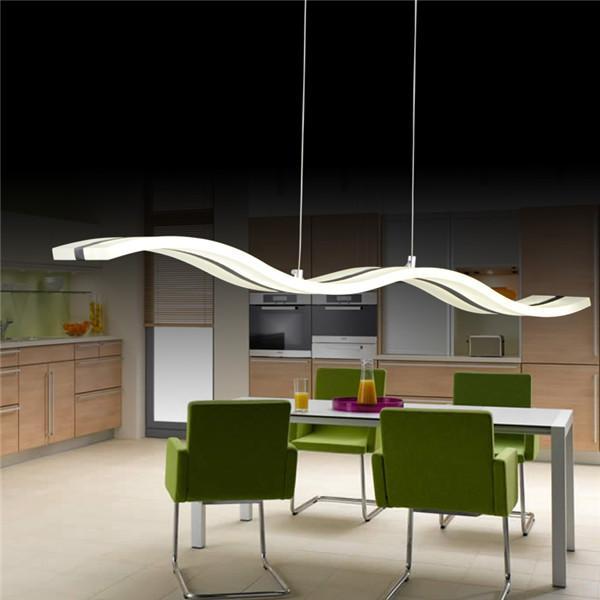großhandel hot verkauf moderne led hängeleuchten fischen line s, Wohnzimmer